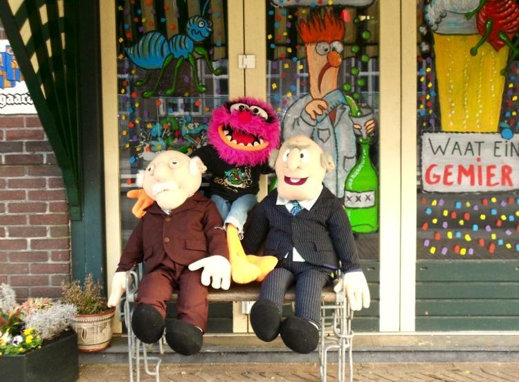 Terras muppets Gonzo Bar